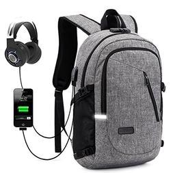 ZZRS Business Laptop Backpack,School Bookbag,Travel Computer