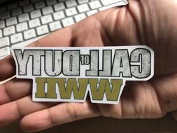 Call Of Duty World At War 2 Laptop Sticker