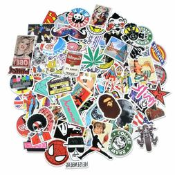 car stickers 100 pcs laptop stickers motorcycle