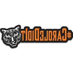 "Tiger King ""Carole Did It"" Die-cut Cutout Laptop Sticker Dec"