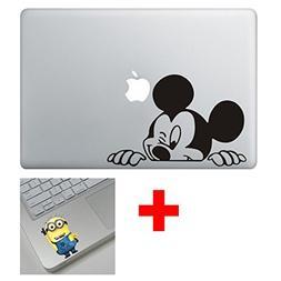 Cartoon Character Decal Sticker for Macbook Laptop Air Pro