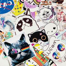 Cat Sticker Bomb Lot Pet Kitten Funny Animal Cute Vinyl Pack