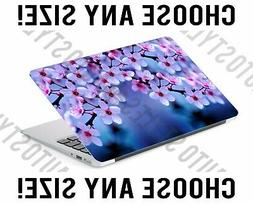 Cherry Blossom Branch Flowers Laptop Skin Decal Sticker Tabl