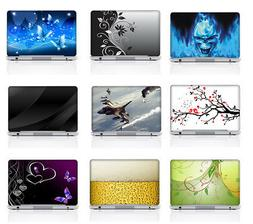 Colorful Design Laptop Vinyl Skin Sticker Decal Cover To Fit