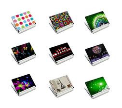 Colorful Designs Laptop  Computer Skin Sticker Decal Cover F