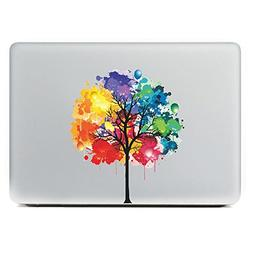 CoSopo Colorful Tree 13 inch Laptop Notebook Skin Sticker Co