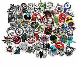 FNGEEN Cool Stickers Pack For Laptop Horror Skull Crazy Stic