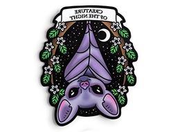 Vampire Bat Sticker - Laptop Sticker, Kawaii Sticker, Pastel