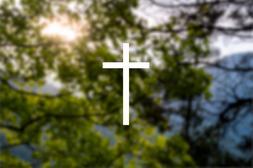 CROSS - Jesus Vinyl Die Cut Sticker Decal for Car Bumper Lap