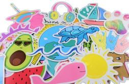 Cute Ocean/Beach Trendy Laptop Stickers  Pack for for Laptop