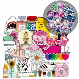 Laptop Stickers for Water Bottles - 86 Pack Cute Aesthetic S