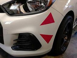 D.Va Inspired Cheek Blush 4 Triangle Sticker Vinyl Decal Car