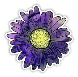 Vinyl Junkie Graphics Daisy Flower Sticker for Car Truck Win