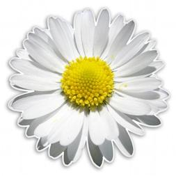 Daisy Flower Vinyl Sticker - Car Window Bumper Laptop - SELE