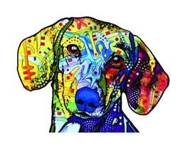 Enjoy It Dean Russo Dachshund Car Sticker, Outdoor Rated Vin