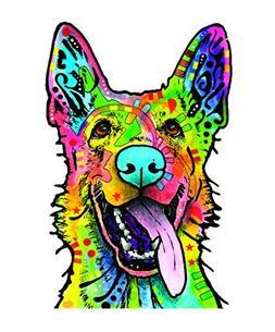 Enjoy It Dean Russo German Shepherd Car Sticker, Outdoor Rat