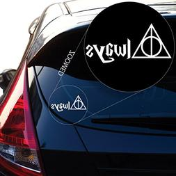 Geekery Deathly Hallows Always Inspired Harry Potter Decal S