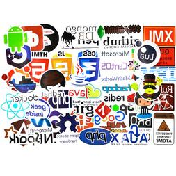 Developer Stickers for Laptop,Programming Stickers of Front-