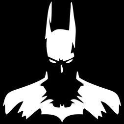 Diecut Vinyl Dark Knight Silhouette Batman Car Truck Decal S