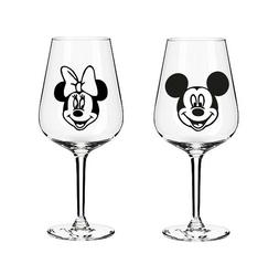 Disney Inspired Mickey & Minnie Mouse Vinyl Stickers - Wine