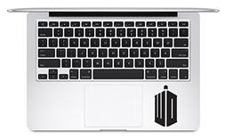DW Logo Doctor Who Keyboard Trackpad Apple Macbook Laptop De