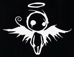 Emo Angel Decal Vinyl Sticker|Cars Trucks Vans Walls Laptop|