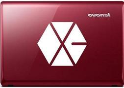 """EXO K-pop Logo - Vinyl 4"""" tall  decal laptop tablet skateboa"""