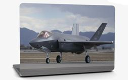 F-35 Lightning II Airplane Vinyl Laptop Computer Skin Sticke