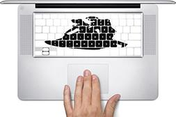 Fairy Tale Silhouette Macbook Keyboard Decals