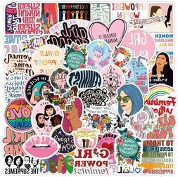 Feminist Stickers Decals Vinyl Waterproof for Laptop,Bumper,