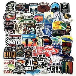 Fishing Sticker Pack Bomb Fish Hunt Boat Laptop Mac Car Viny