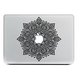 Ur 1PC Flower Laptop Sticker Skin Vinyl Decal For Apple Macb