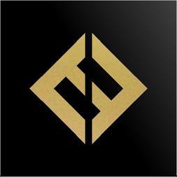 Foo Fighters Concrete and Gold Album Logo Car Window Laptop