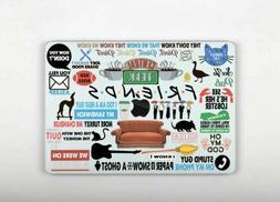 Friends TV Series Laptop Sticker Vinyl Macbook 12 Decal Pro