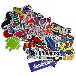 Funny Sticker Pack, Auto-Partner Waterproof Cool Vinyl Decal