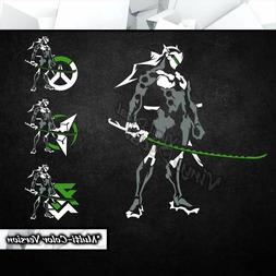 Genji Overwatch Vinyl Decal Sticker