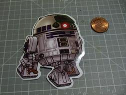 GLOSSY MINI STAR WARS R2-D2 Sticker Decal Bumper Laptop Skat