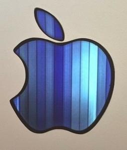 glowing blue bars apple macbook pro air