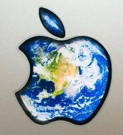 GLOWING EARTH Apple Sticker Macbook Pro Air Mac Laptop DECAL