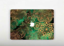 Golden Boho Mandala Macbook Air 11 Inch Sleeve Laptop Vinyl