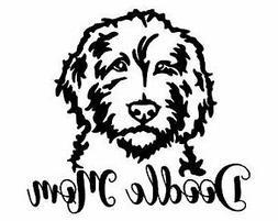 Golden Doodle Dog Vinyl Decal  Decal Sticker Laptop Car Wind