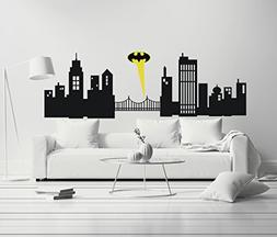Gotham City - Boy Girl Room - Mural Wall Decal Sticker For H