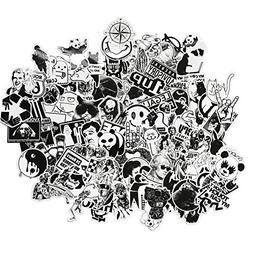 DreamerGO Graffiti Stickers 100 Pieces Black and White Smoot