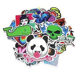 Nuoxinus Laptop Stickers 200pcs Waterproof Graffiti Vinyl St