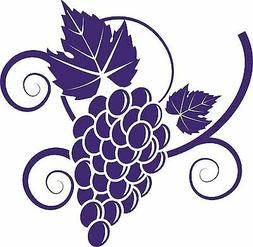 Grapes Food Grape Vine Car Truck Window Laptop Vinyl Decal S