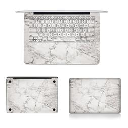 Grey Marble Texture <font><b>Laptop</b></font> Body Decal Pr