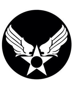 Hap Arnold USAF Logo Decal 5 inch White | Air Force | Milita