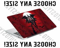 Harley Quinn and Batman Bats Laptop Skin Decal Sticker Table