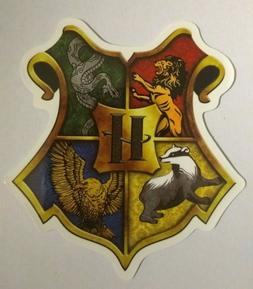 Harry Potter Crest Sticker decal skate board ipad laptop pho