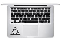 Harry Potter Deathly Hallow Keyboard Trackpad Apple Mac Air